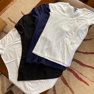 ギャップ(GAP)の新品未使用!GAP Vネック Tシャツ4枚セット!(Tシャツ/カットソー(半袖/袖なし))