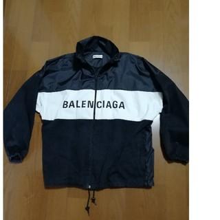 バレンシアガ(Balenciaga)のぽこ様専用BALENCIAGA ブルゾン黒レディース36(メンズでもXL 位)(ナイロンジャケット)
