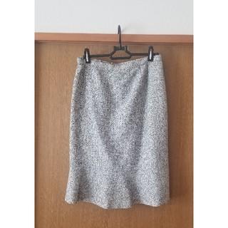 ハナエモリ(HANAE MORI)のハナエモリ HANAE MORI コクーンスカート サイズ40(ひざ丈スカート)