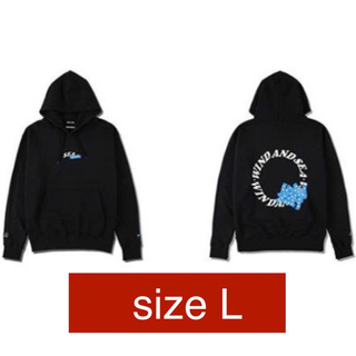WIND AND SEA × GOD SELECTION XXX  HOODIE(パーカー)