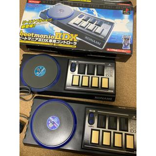 コナミ(KONAMI)のbeatmania IIDX コントローラー2個(その他)