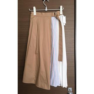 ローズバッド(ROSE BUD)のフレアスカート(ひざ丈スカート)