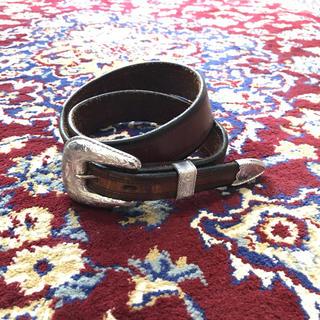 トーガ(TOGA)のVINTAGE shape design western belt(ベルト)