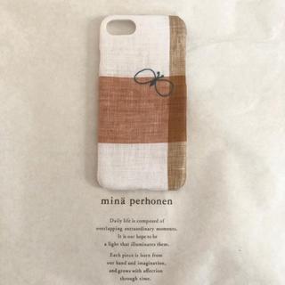 ミナペルホネン(mina perhonen)のミナペルホネン choucho iPhone7/8/SE カバーケース(iPhoneケース)