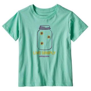 パタゴニア(patagonia)のPatagonia パタゴニア キッズ 半袖 Tシャツ 5T 新品未使用(Tシャツ/カットソー)
