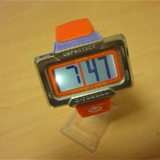 所ジョージさんの世田谷ベース、DAITAI時計 オレンジ色(腕時計(デジタル))
