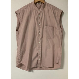 ロンハーマン(Ron Herman)のmina様専用  オーラリー スリーブレスシャツ(シャツ/ブラウス(半袖/袖なし))