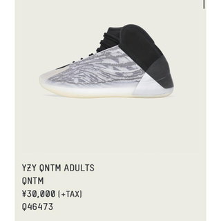アディダス(adidas)のYEEZY QNTM BARIUM 26センチ(スニーカー)