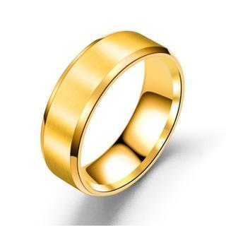 指輪 ステンレスリング ゴールド(リング(指輪))