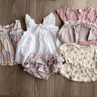 プティマイン(petit main)のテータテート プティマイン セット(Tシャツ)