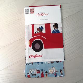 キャスキッドソン(Cath Kidston)のロンドン ピープル ティータオル キャスキッドソン(収納/キッチン雑貨)
