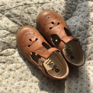 Caramel baby&child  - 最終値下 美品 キッズ 革靴 16.4cm