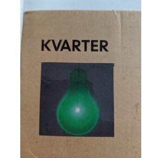 イケア(IKEA)のIKEA パネル照明 KVARTER クヴァルタール  電球の形がかわいいライト(その他)