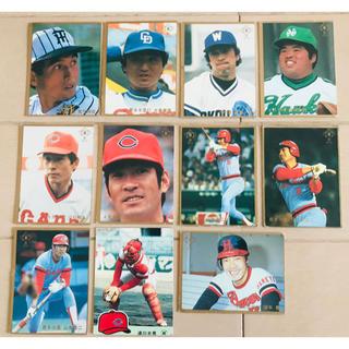 カルビー(カルビー)のプロ野球カード エラーカード(その他)