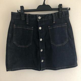 ラルフローレン(Ralph Lauren)のRalph Laurenデニムスカート heatherチェックスカート(ミニスカート)