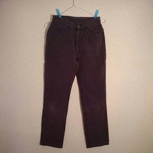 灰色 グレー デニム レディースのパンツ(デニム/ジーンズ)の商品写真