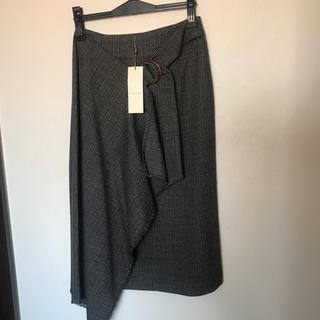 カプリシューレマージュ(CAPRICIEUX LE'MAGE)の新品タグ付きCAPRICIEUX  LE' MAGEラップスカート(ロングスカート)