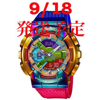ジーショック(G-SHOCK)の9/18発送 GM-110RB-2AJF (腕時計(デジタル))
