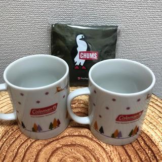 コールマン(Coleman)のColemanマグカップ&CHUMSエコバックのセット(グラス/カップ)