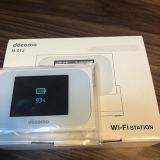 エヌティティドコモ(NTTdocomo)のWi-Fi STATION N-01J (PC周辺機器)