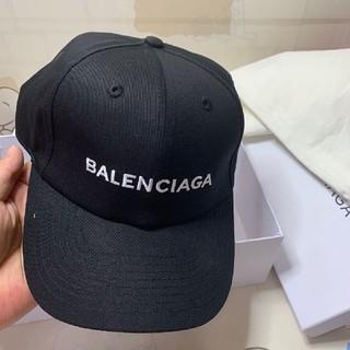 バレンシアガ(Balenciaga)の♛balenciaga キャップ黒(キャップ)