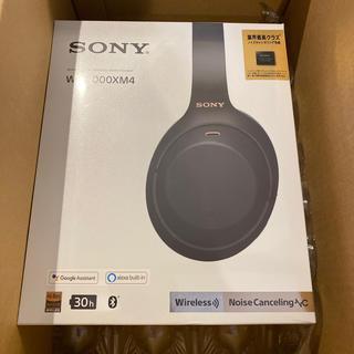 ソニー(SONY)の新品未開封 SONY WH-1000XM4-BM ソニー ヘッドホン ワイヤレス(ヘッドフォン/イヤフォン)