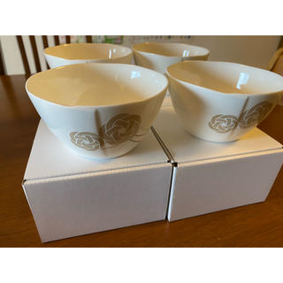 ニッコー(NIKKO)の三谷産業 2020年株主優待品 ニッコー陶磁器小鉢 4個セット 新品未使用品(食器)