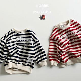 リサラーソン(Lisa Larson)のdigreen 韓国 子供服 裏毛 トレーナー 2色 キッズ ユニセックス(Tシャツ/カットソー)