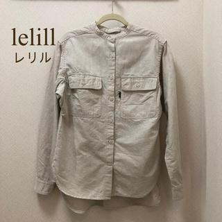 アナディス(d'un a' dix)のレリル lelill コットンリネンワークシャツ(シャツ/ブラウス(長袖/七分))