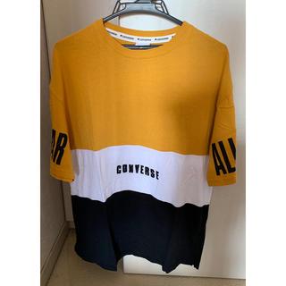 コンバース(CONVERSE)のコンバース半袖 Tシャツ 白黒カラシ色  Mサイズ(Tシャツ(半袖/袖なし))