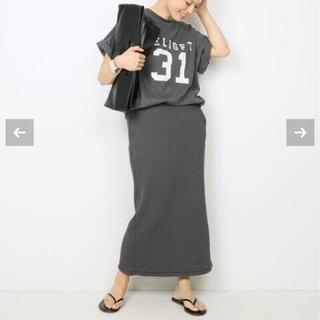 ドゥーズィエムクラス(DEUXIEME CLASSE)のAMERICANA  スカート&Tシャツ set(その他)