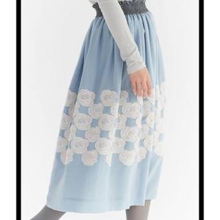 ミナペルホネン(mina perhonen)のミナペルホネン rosas 36 (ひざ丈スカート)