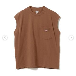 ダントン(DANTON)のDANTON ダントン ノースリーブTシャツ 36 ブラウン(Tシャツ(半袖/袖なし))