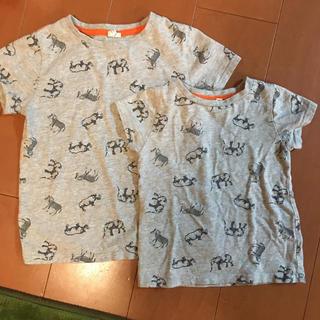 サマンサモスモス(SM2)の95 120 半袖 Tシャツ 兄弟コーデ(Tシャツ/カットソー)