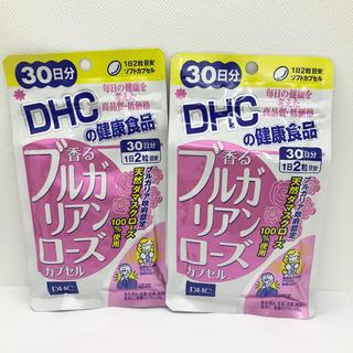 ディーエイチシー(DHC)のDHC 香るブルガリアンローズ カプセル 30日分 2袋(口臭防止/エチケット用品)