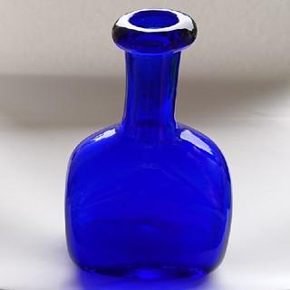 イッタラ(iittala)のErik Hoglund エリック ホグラン ボトル ブルー(花瓶)