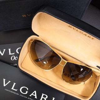 ブルガリ(BVLGARI)の正規品☆ブルガリ サングラス ティアドロップ メガネ バッグ 財布 小物(サングラス/メガネ)