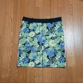 グレースコンチネンタル(GRACE CONTINENTAL)の新品未使用☆Adonisis 花柄スカート ミニスカート(ミニスカート)