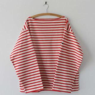 コモリ(COMOLI)の未使用 outil ウティ バスクシャツ(Tシャツ/カットソー(七分/長袖))
