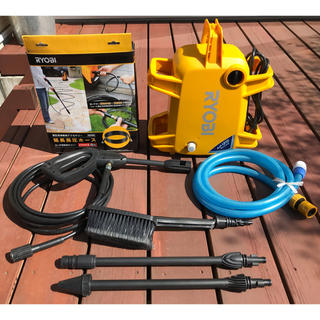 リョービ(RYOBI)のRYOBI(リョービ) AJP-1210 高圧洗浄機(洗車・リペア用品)