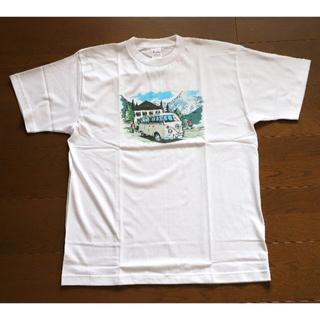 フォルクスワーゲン(Volkswagen)の未使用 VW タイプ2 ワーゲンバス  Tシャツ メンズ  Lサイズ 白(Tシャツ/カットソー(半袖/袖なし))
