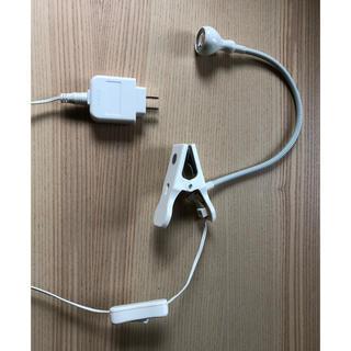 イケア(IKEA)のIKEA ライト LED クリップライト 白 ホワイト(その他)