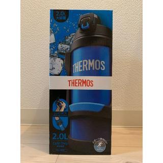 サーモス(THERMOS)のサーモス 真空断熱スポーツジャグ アイスブルー 水筒 2リットル 2L(その他)