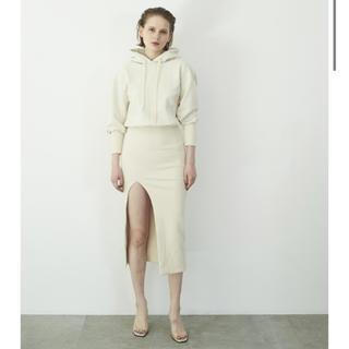 ロザリームーン(Rosary moon)のFront Slit Hoodie Dress(ロングワンピース/マキシワンピース)