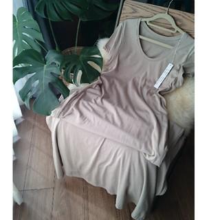 プレーンクロージング(PLAIN CLOTHING)の《新品》マキシワンピース(ロングワンピース/マキシワンピース)