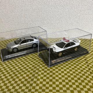 スバル(スバル)のRAIS スバルミニカーパトカー2種(ミニカー)