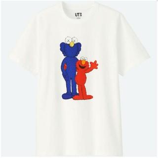 セサミストリート(SESAME STREET)のUNIQLO/ユニクロ × KAWS × セサミストリート Tシャツ(Tシャツ/カットソー(半袖/袖なし))
