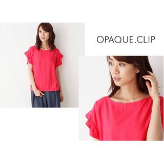 オペークドットクリップ(OPAQUE.CLIP)のTシャツ カットソー トップス(Tシャツ(半袖/袖なし))