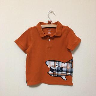 ジンボリー(GYMBOREE)のGYMBOREE★ジンボリー★オレンジサメ柄ポロシャツ 2T(90)(100)(Tシャツ/カットソー)
