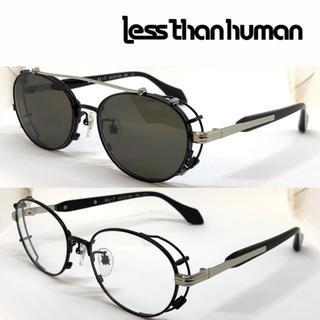 レスザンヒューマン(LESS THAN HUMAN)のless than human レスザンヒューマン メガネ KL-7 195(サングラス/メガネ)